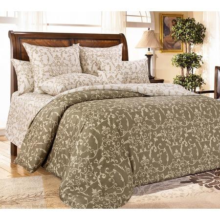 Купить Комплект постельного белья Королевское Искушение «Вирджиния». Тип ткани: сатин