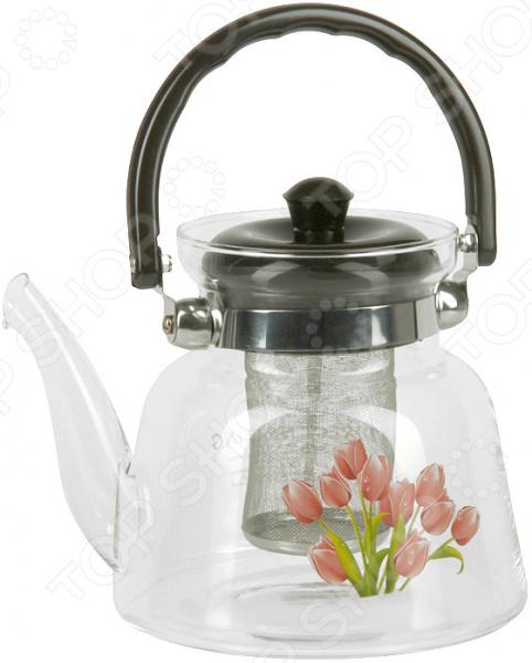 Чайник заварочный Rosenberg RGL-250003 чайник заварочный rosenberg rgl 250019 1 1l