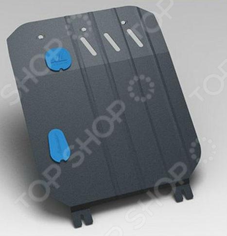Комплект: защита КПП и крепеж Novline-Autofamily Subaru Forester 2007-2012: 2,0 бензин АКПП (ЭУР) автомобильный коврик novline nlc 46 13 210kh для subaru xv от 2012