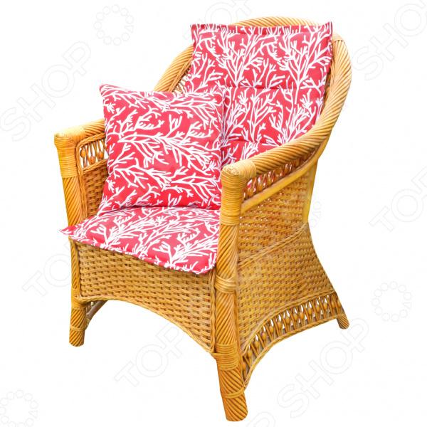 Подушка на стул со спинкой Kauffort Corals сковорода добрыня do 3302 1