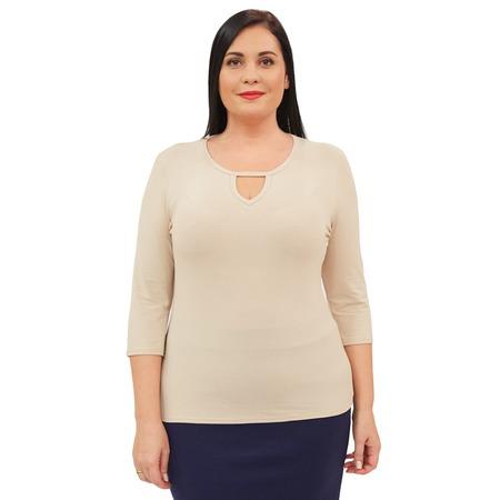 Купить Блуза Матекс «Каролина». Цвет: бежевый