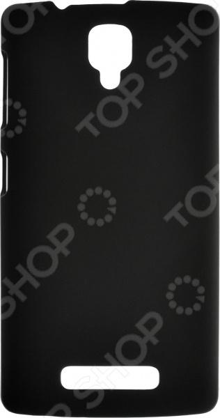 Чехол защитный skinBOX Lenovo A1000 чехлы для телефонов skinbox накладка для lenovo vibe c skinbox серия 4people защитная пленка в комплекте