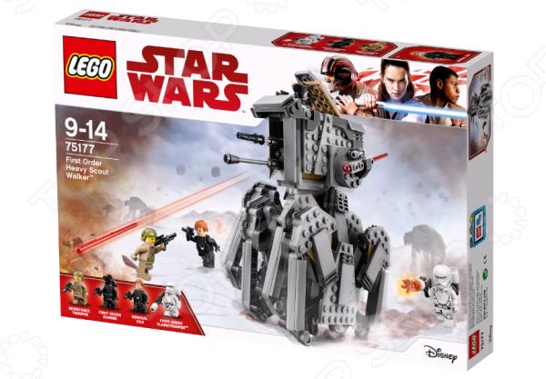 Конструктор для мальчика LEGO Star Wars «Тяжелый разведывательный шагоход Первого Ордена» конструктор lego star wars тяжелый разведывательный шагоход первого ордена 75177 l