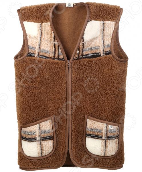 Жилет утепленный WoolHouse С.2.2.М. Цвет: коричневый жилет утепленный мужской woolhouse матео