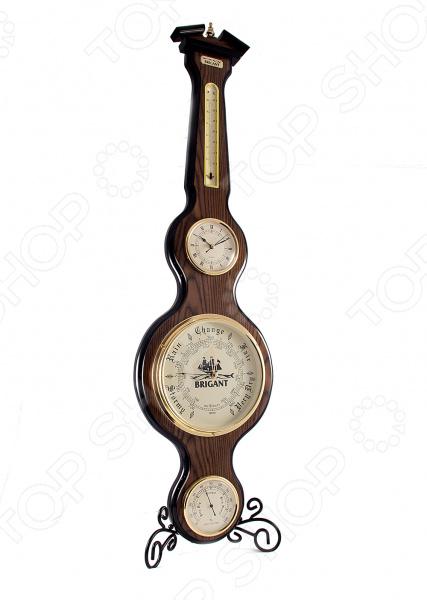 Часы-метеостанция настенные Brigant 28149