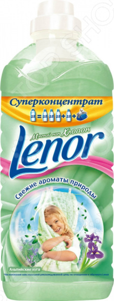 Кондиционер для белья LENOR «Альпийские Луга»