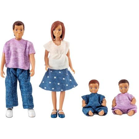 Купить Набор кукол Lundby «Семья с двумя малышами»