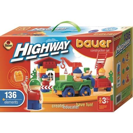 Купить Конструктор игровой Bauer «Автодорога» ЯВ118333