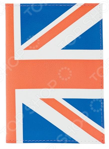 Обложка для автодокументов кожаная Mitya Veselkov «Британский флаг» часы наручные mitya veselkov британский флаг mvblack 22