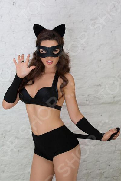 Костюм для ролевых эротических игр женский SoftLine Collection Catwoman костюм сетка softline collection ligia