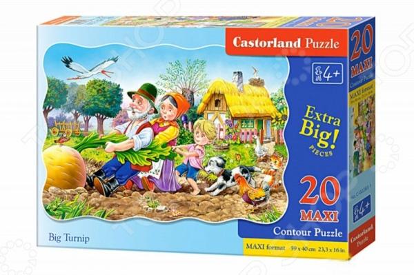 Пазл 20 деталей MAXI Пазл 20 элементов MAXI Castorland «Большая репка»