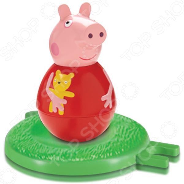 Набор фигурок игрушечных Peppa Pig «Неваляшка Пеппа»