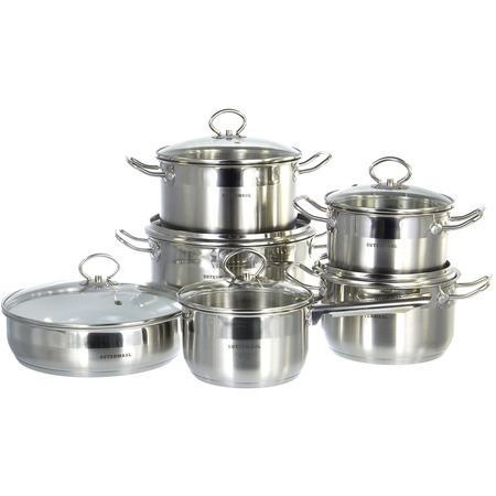 Купить Набор посуды для готовки Guterwahl набор посуды (12) (2) GS-0117-12CERW