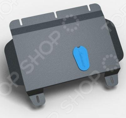 Комплект: защита КПП и крепеж NLZ Часть 2. Hyundai H1 2010: 2,4 бензин АКПП
