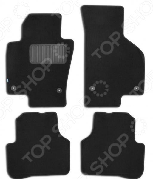 Комплект ковриков в салон автомобиля Klever Premium для Volkswagen Passat B7 седан, 2011 набор автомобильных ковриков klever для volkswagen jetta 2011 седан в салон 4 шт kvr02513801210kh