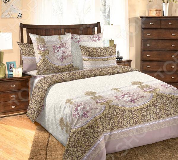 цена Комплект постельного белья Белиссимо «Мон Шер» онлайн в 2017 году