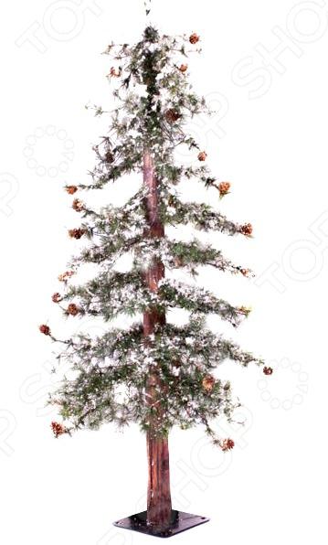 Ель искусственная Crystal Trees «Закарпатская с маленькими шишками» ель новогодняя crystal trees 1 2 м триумфальная с шишками kp8612