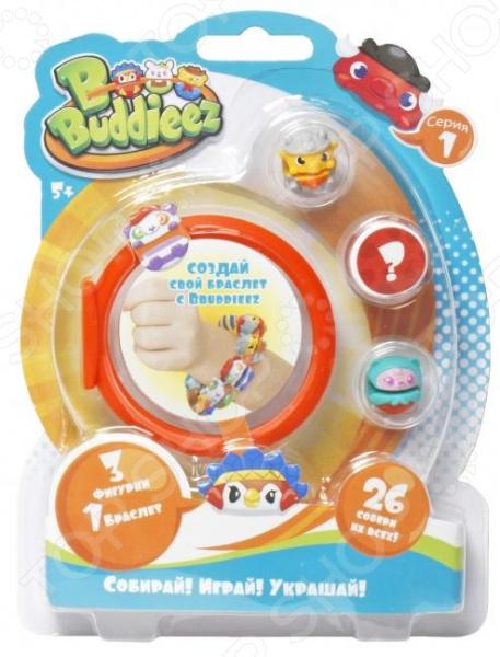 Набор шармов игрушечных 1 Toy с браслетом Bbuddieez. В ассортименте