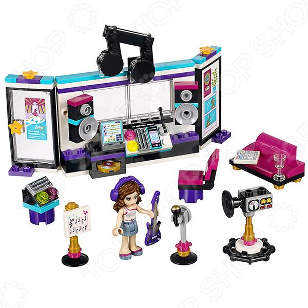 Конструктор игровой LEGO 41103 «Поп звезда: студия звукозаписи» lego friends 41104 поп звезда гримерная