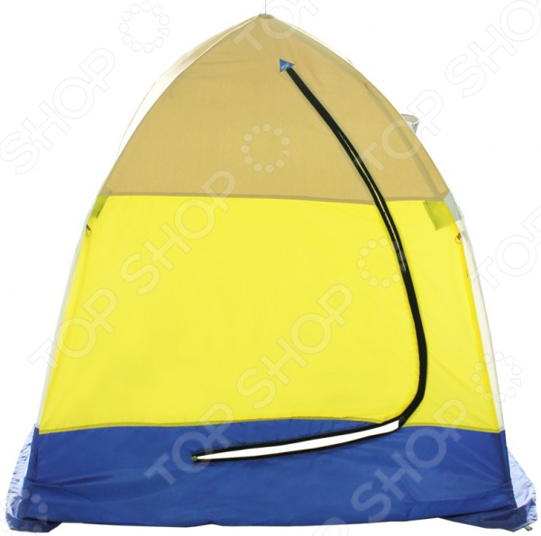 палатка caperlan внешний тент для палатки tanker frontview Палатка СТЭК Elite 1 брезентовая