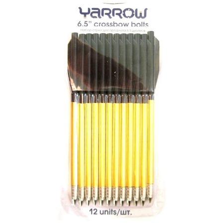 Купить Набор стрел для арбалета Yarrow алюминиевых: 12 предметов
