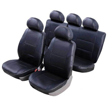 Купить Набор чехлов для сидений Senator Atlant Lada 2191 Granta 2013 5 подголовников слитный задний ряд