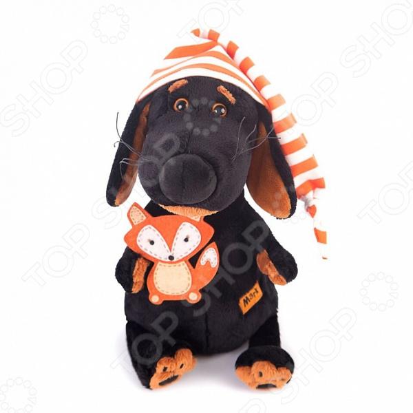 Мягкая игрушка BUDI BASA «Ваксон в колпачке и с лисичкой»