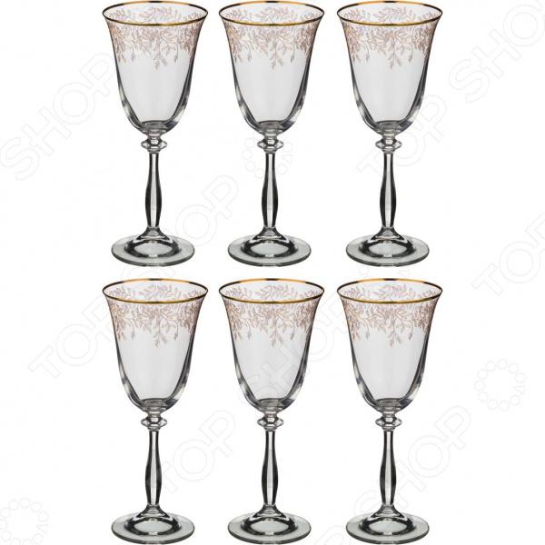 Набор бокалов Bohemia Crystal «Анжела» 674-504