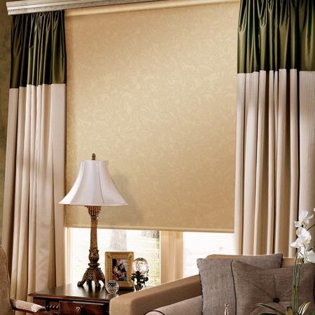 Купить Рулонная штора Эскар «Арабеска». Цвет: капучино