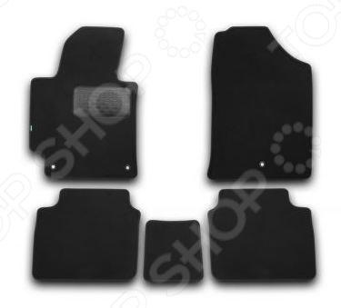 Комплект ковриков в салон автомобиля Klever Hyundai Elantra 2014 Premium комплект чехлов на весь салон seintex 85746 hyundai elantra 2012 black