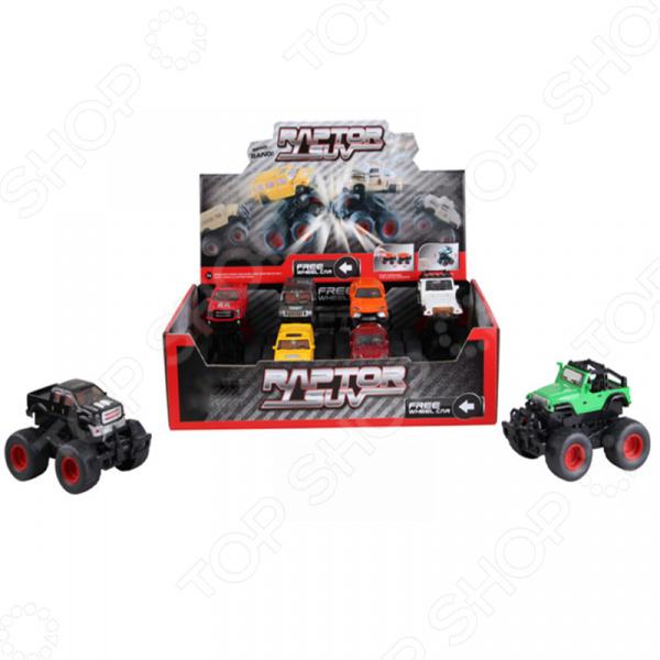 Машинка инерционная игрушечная Yako с пружинным механизмом 1724525. В ассортименте