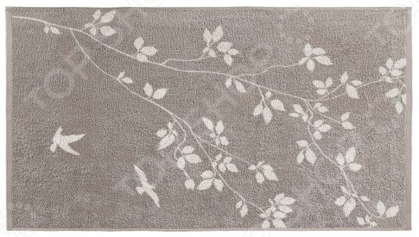 Полотенце махровое Aquarelle «Форест вид 2». Цвет: мокко, светло-бежевый полотенце махр aquarelle таллин 35х70см мокко