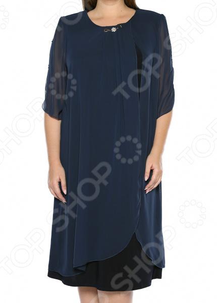 Платье Pretty Woman «История любви». Цвет: синий