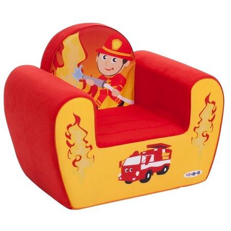 Купить Кресло детское игровое PAREMO «Пожарный»