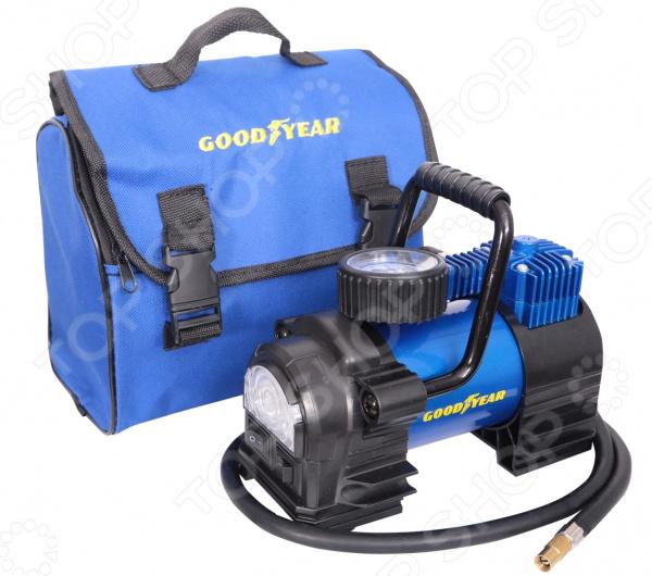 Воздушный автомобильный компрессор Goodyear GY-35L LED