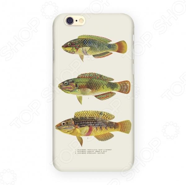 Чехол для IPhone 6 Mitya Veselkov «Рыбы» mitya veselkov чехол для iphone 6 скандинавская лошадка