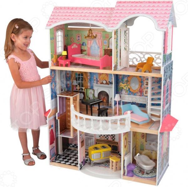 Кукольный дом с аксессуарами KidKraft «Магнолия»