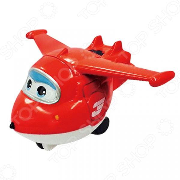 Самолет игрушечный Super Wings «Джетт» игровые наборы super wings набор аэропорт