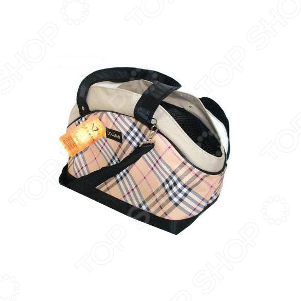 Сумка-переноска Dogman «Сити» сумку переноску для щенят