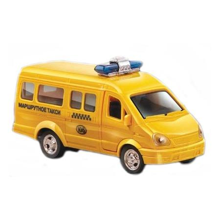 Купить Машинка инерционная PlaySmart «Микроавтобус» Р41114