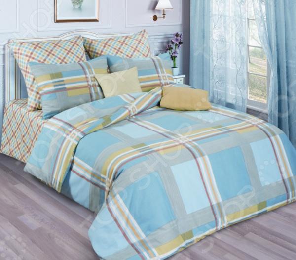 Комплект постельного белья La Vanille 644/2 комплект белья диана la vanille 2 спальный наволочки 70х70 цвет желтый голубой серый с 644 2 175 180 70