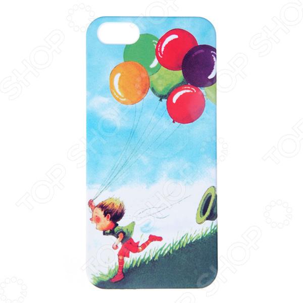 Чехол для iPhone 5 Mitya Veselkov Kafkafive-74 mitya veselkov тюльпановый принт чехол для apple iphone 5 5s