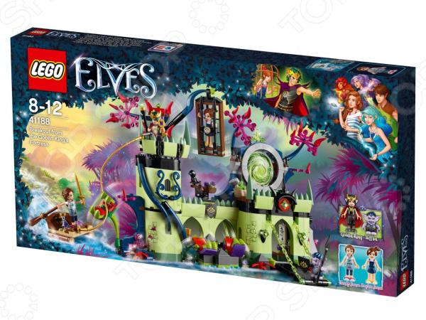 Конструктор игровой LEGO Elves «Побег из крепости Короля гоблинов» конструктор lego elves 41186 побег азари из леса гоблинов