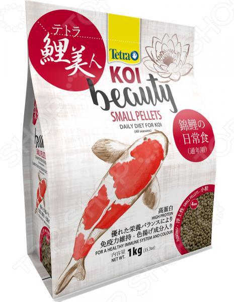 Корм для карпов кои Tetra Koi Beauty Small Pellets корм для прудовых рыб tetra floating pellets s