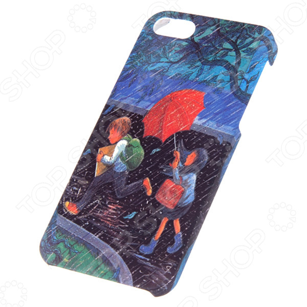 Чехол для iPhone 5 Mitya Veselkov Kafkafive-35 mitya veselkov тюльпановый принт чехол для apple iphone 5 5s