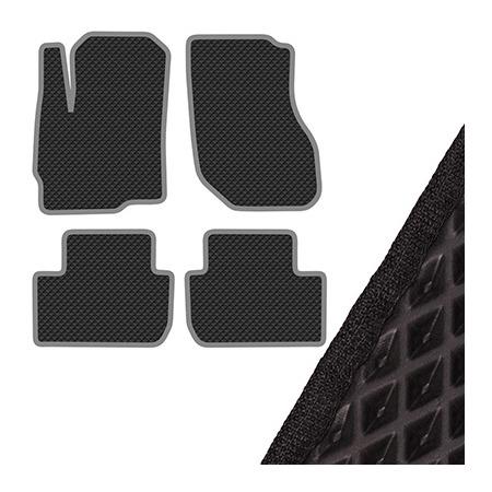 Купить Комплект из 4-х ковриков в салон автомобиля с левым рулем SKYWAY Mitsubishi OutLander (2012)