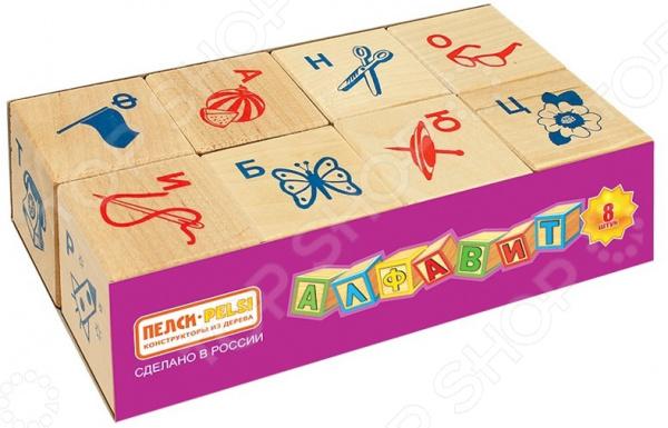 Кубики развивающие Теремок с русским алфавитом и картинками развивающие игрушки стеллар пирамида теремок