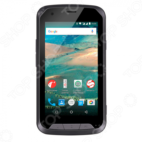 Смартфон защищенный SENSEIT R450 8Gb защищенный смартфон ruggear rg 500