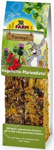 Лакомство витаминное для грызунов JR Farm Hagebutte Mariendistel лакомство для грызунов чика био шиповник с календулой 110 г