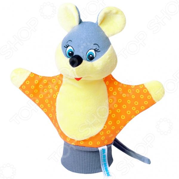 Игрушка-рукавичка Мякиши «Мышка». В ассортименте цены